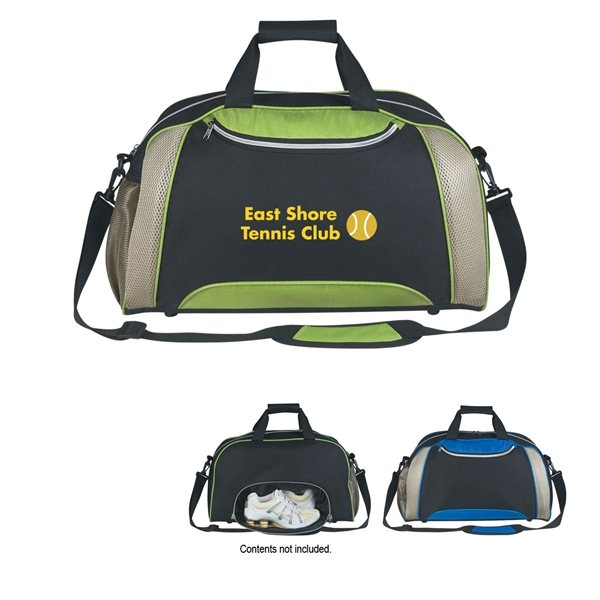 Promotional 600D Polyester Excel Duffel Bag
