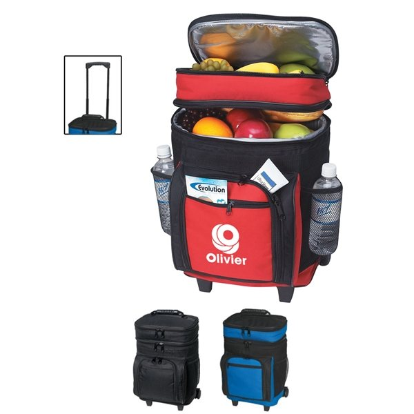 Promotional 30 Can Rolling Cooler