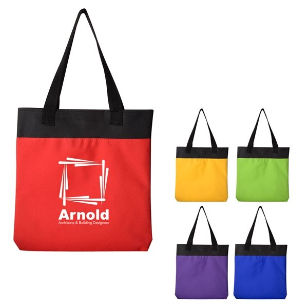 Promotional Polyester Shoppe Tote Bag
