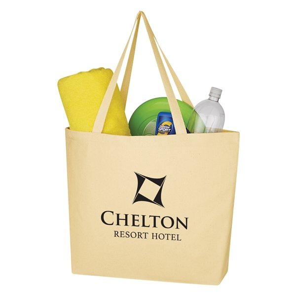 Promotional The Outing Cotton Twill Tote Bag