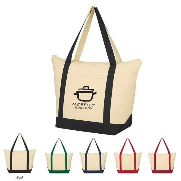 Promotional Folksy Cotton Tote Bag