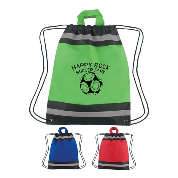 Promotional Small Non - Woven Reflective Hit Sports Pack