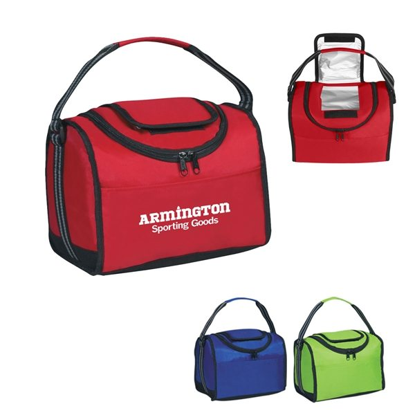 Promotional Flip Flap Insulated Lunch Bag