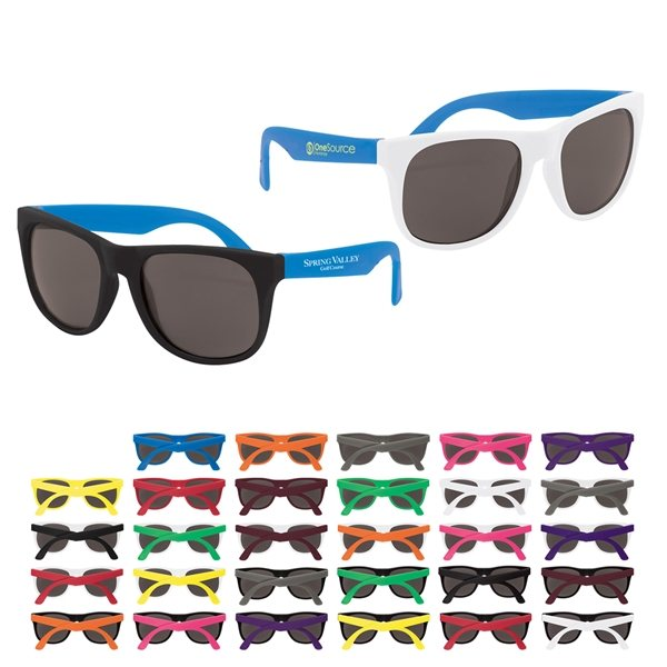 4480a9f629 Custom Recyclable Two Tone Sunglasses - Promotional Sunglasses