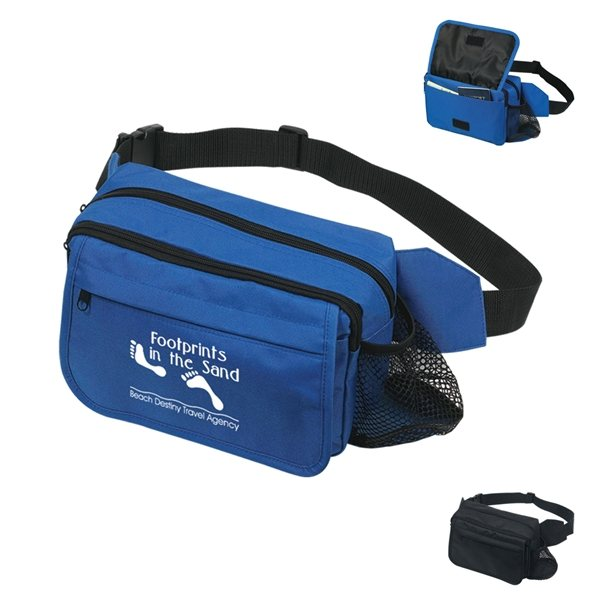 Promotional Happy Travels Fanny Pack
