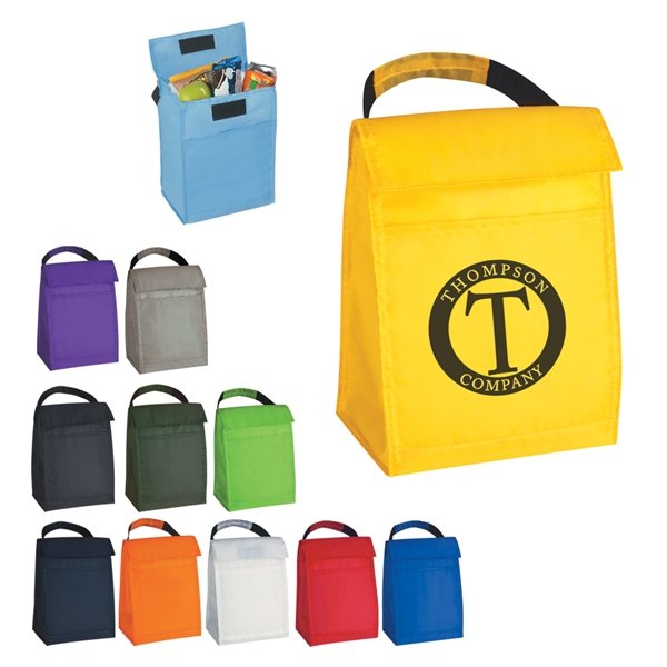 Promotional 210D Polyester Budget Lunch Bag