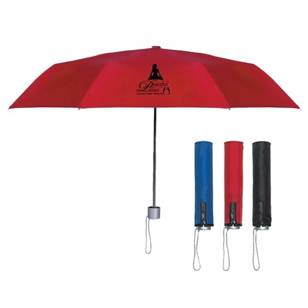 Promotional 42 Arc Trendy Telescopic Folding Umbrella