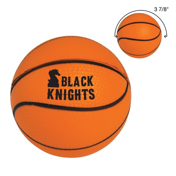 Promotional Basketball Shape Stress Reliever