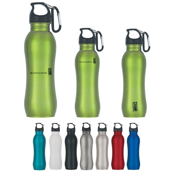 Promotional 25 oz Stainless Steel Grip Bottle