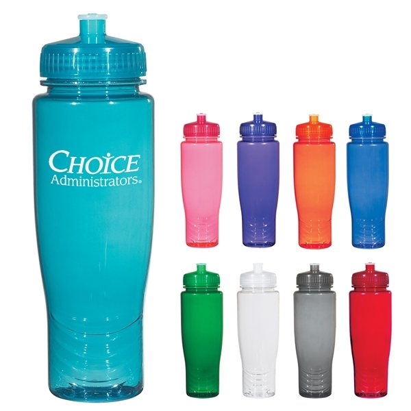 Promotional 28 oz BPA Free Poly - Clean Plastic Bottle