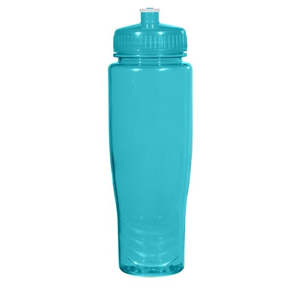 Cleaning Sports Bottle Lids: 28 Oz BPA Free Poly-Clean Plastic Bottle
