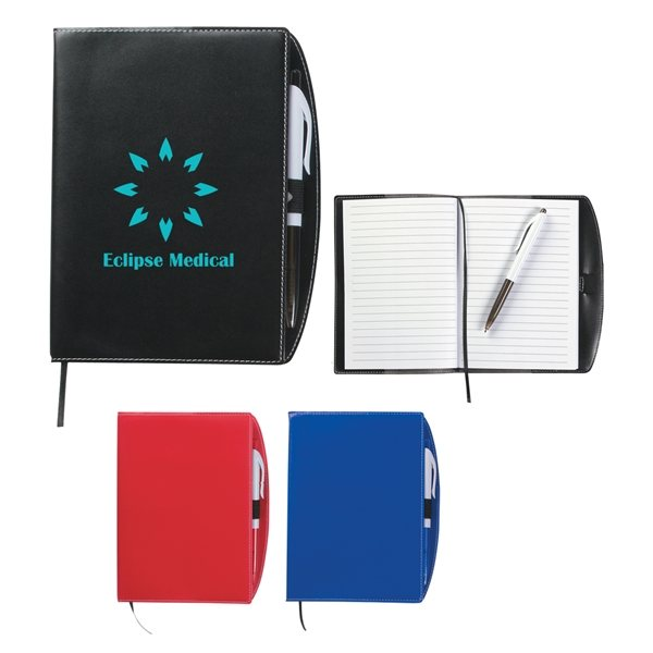 Promotional Savannah Notebook With Pen