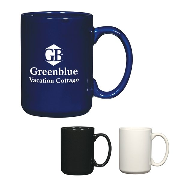Promotional 15 oz Ceramic El Grande Mug