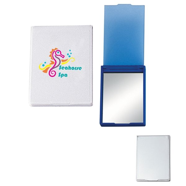 Promotional Travel Vanity Mirror With Stand