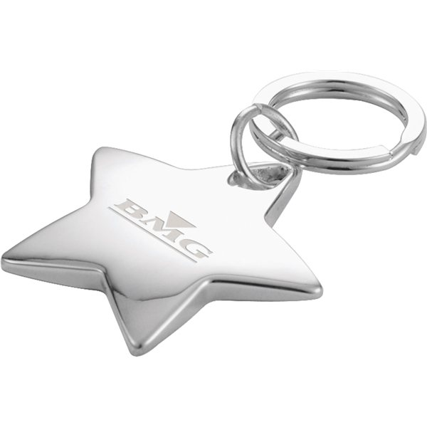 Promotional Star - Shaped Key Ring