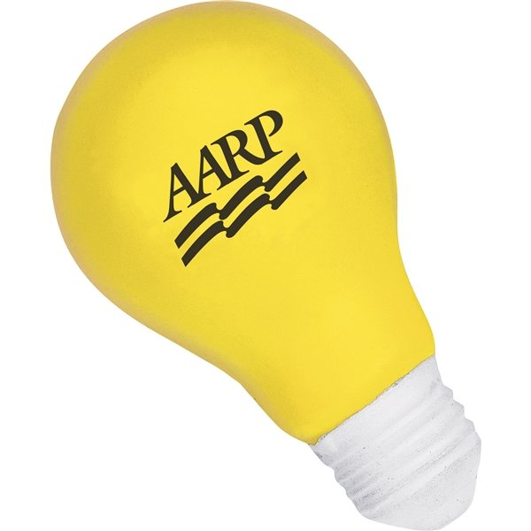 Promotional Light Bulb Stress Reliever