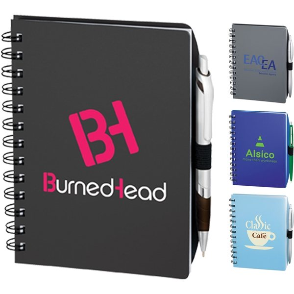 Promotional 100 Sheets Lined Coordinator Notebook