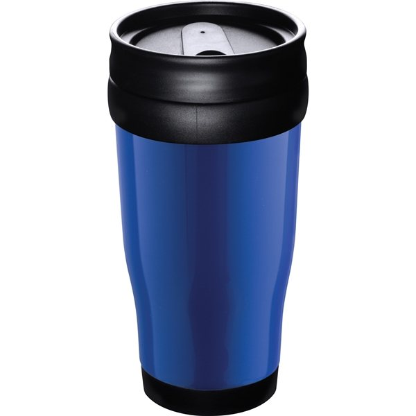 Promotional 16 oz Columbia Plastic Double Wall Insulated Tumbler