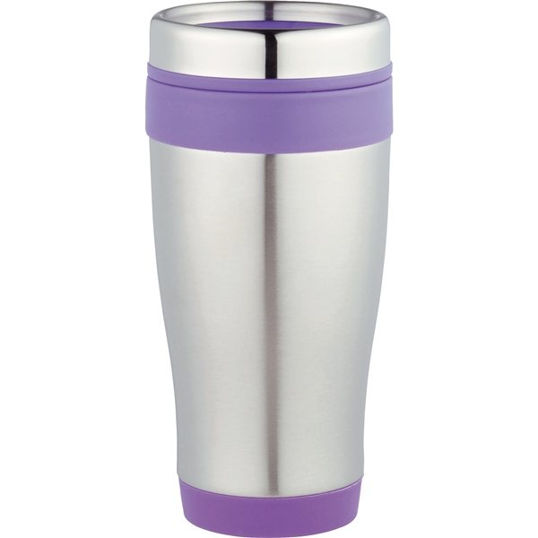 Promotional 16 oz Carmel Stainless Steel Double Wall Tumbler
