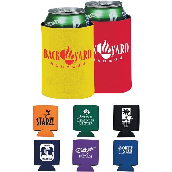 Promotional Polyester Collapsible Can Insulator