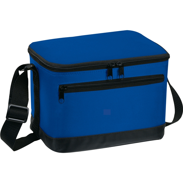 6 Pack Cooler ~ Deluxe pack cooler bag promotional lunch bags