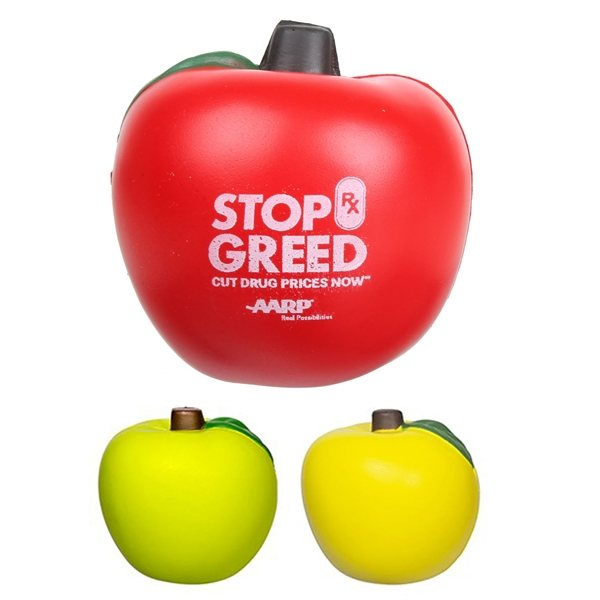 Promotional Apple Stress Reliever
