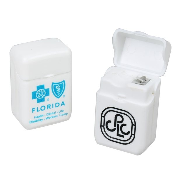 Promotional Dental Floss Flip - Top Case