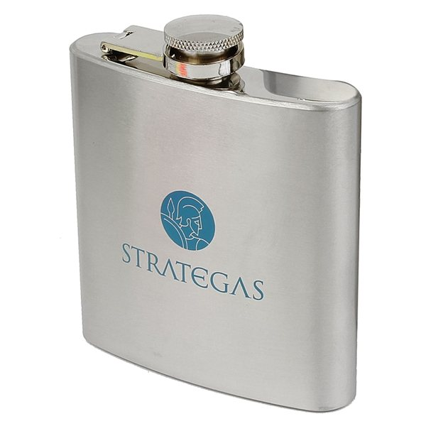 Promotional 6 oz 18/8 Stainless Steel Flask