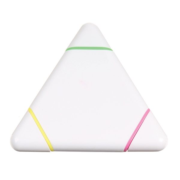 Promotional Tri - Color Highlighter