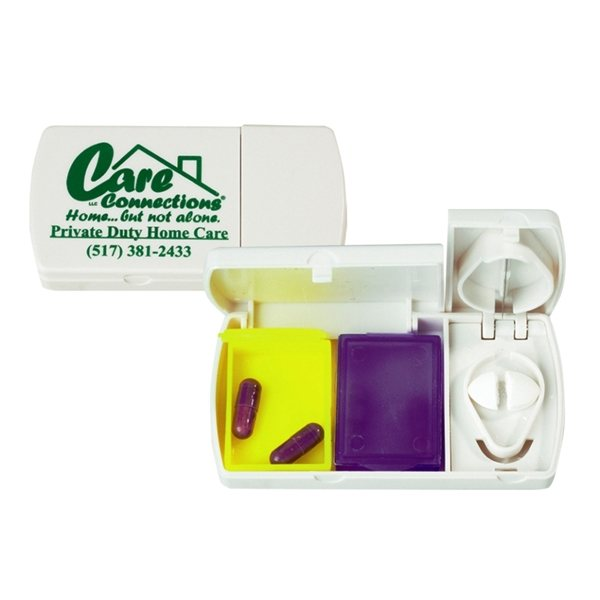 Promotional Pill Box W / Cutter
