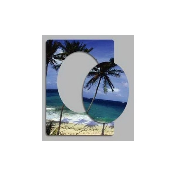 Promotional Tropical - Picture Frame Magnets