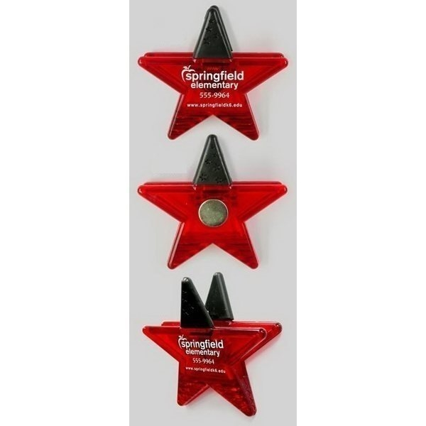 Promotional Star (red) - Shape Clips