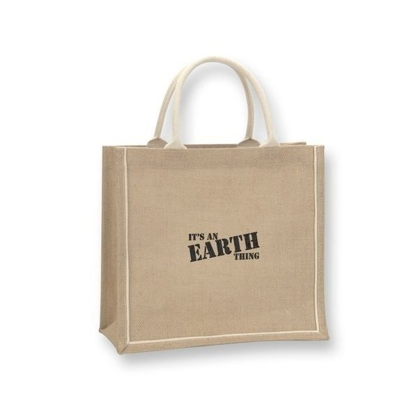 Promotional Orangebag Jute Tote