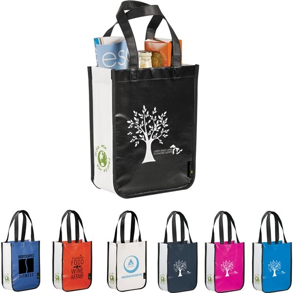 Promotional Small Laminated Non - Woven Shopper Tote