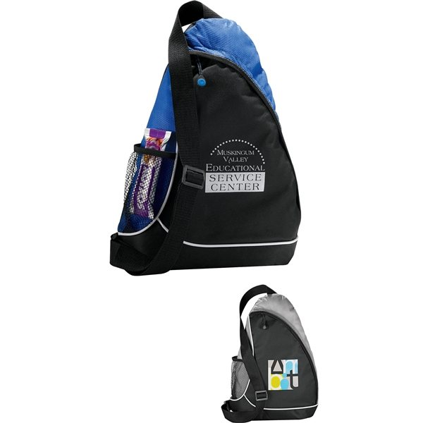 Promotional Crossover Shoulder Backpack