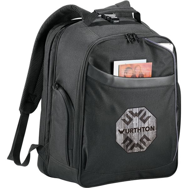 Promotional Checkmate(R) TSA 15 Computer Backpack