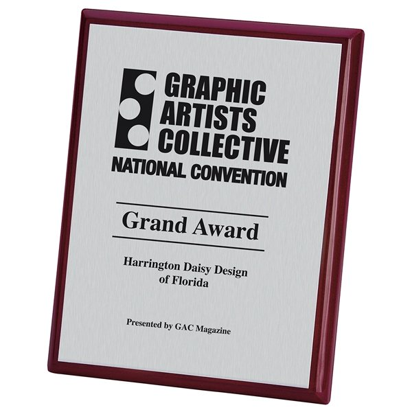 Promotional 8x10 Connection Plaque - Rosewood