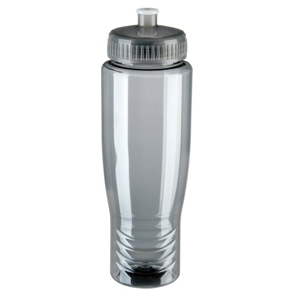 Promotional 27 oz Gripper Poly - Clear Plastic Squeezable Bottle