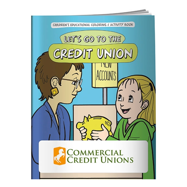 Promotional Coloring Book Lets Go to the Credit Union