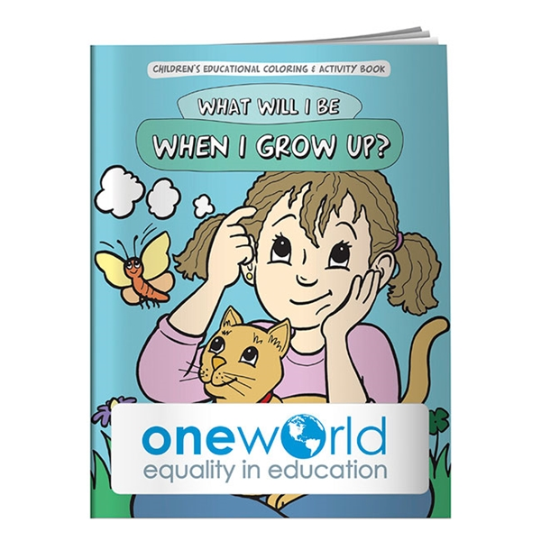 Promotional Coloring Book What Will I Be When I Grow Up