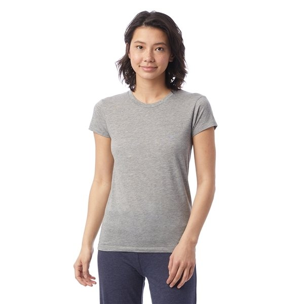 Promotional Alternative Tear - Away Label Ladies T - Shirt (Heather Grey)