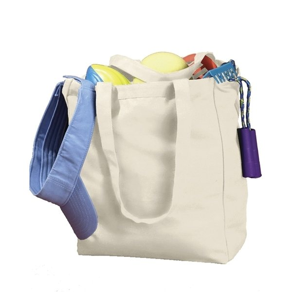 Promotional BAGedge 12 oz Canvas Book Tote
