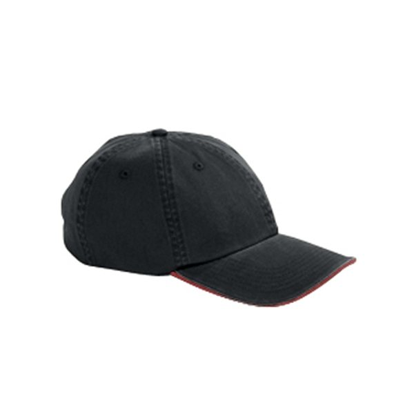 Promotional Big Accessories Washed Twill Sandwich Cap