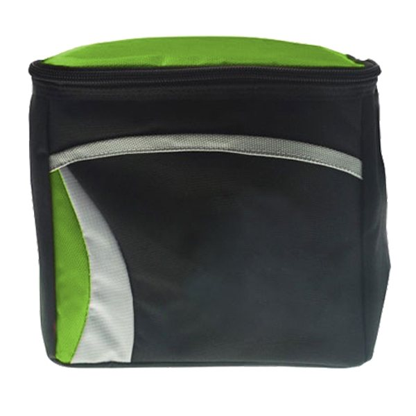 Promotional Zippered Closure 6 Pack Wave Cooler