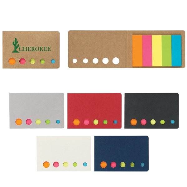 Promotional Sticky Flags In Pocket Case