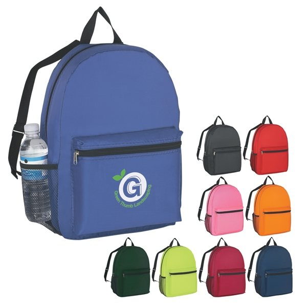 Promotional Polyester Budget Backpack
