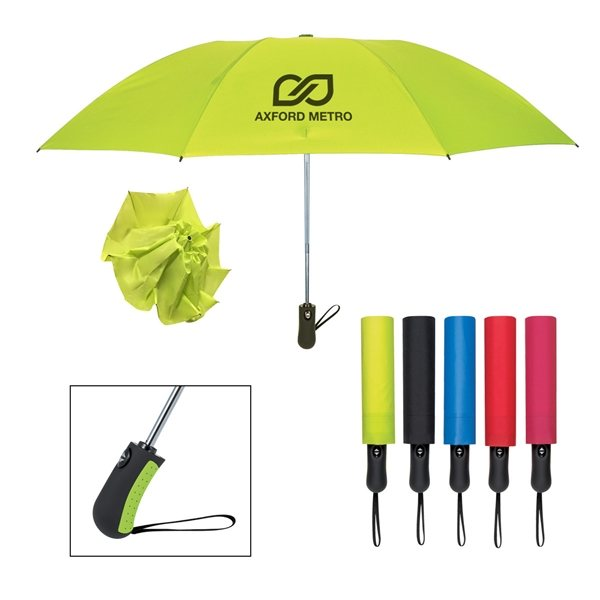 Promotional 46 Arc Telescopic Inversion Umbrella