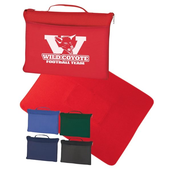 Promotional Polyester Fleece Blanket