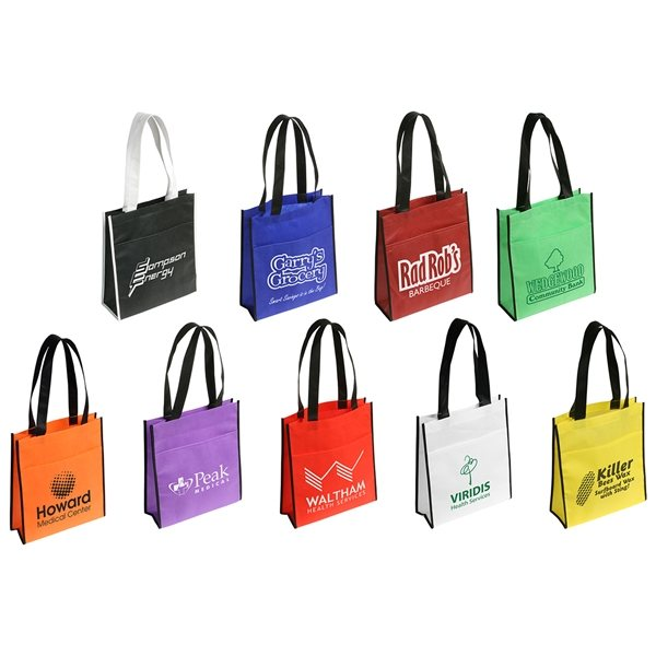 Promotional The Peak Tote Bag With Pocket