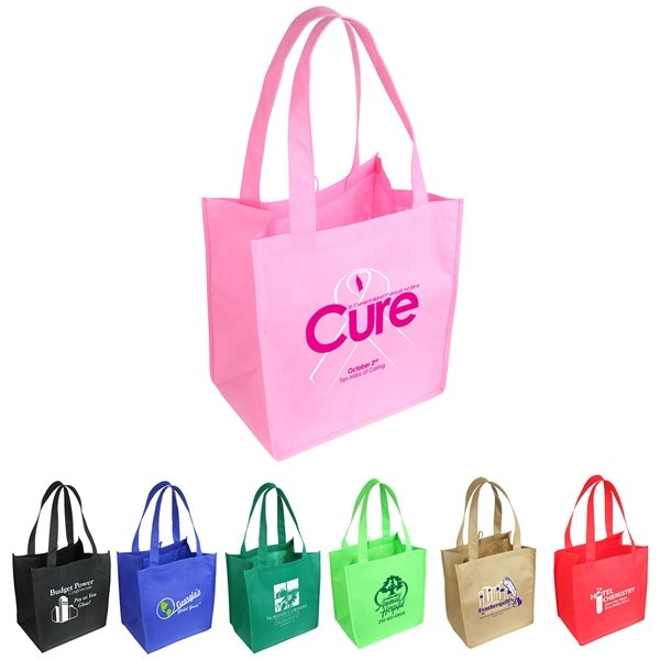 Promotional Sunbeam Non - Woven Shopping Tote Bag - 12 x 14